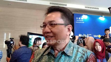 Achmad Budiharto, Sekretaris Jenderal PBSI, memastikan cabor bulu tangkis Indonesia akan menurunkan skuat dengan kombinasi antara pemain junior dan senior di SEA Games 2019.. - INDOSPORT