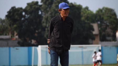 Mantan pemain sepak bola Sumut, Amrustian, yang berhasil mengantarkan PSMS Medan dan tim PON Sumut juara edisi 1985. - INDOSPORT