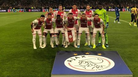 Ajax Amsterdam membantai klub gurem Belanda, VVV Venlo dengan skor telak 13-0. Kemenangan ini membuat rekor di Eredivisie. - INDOSPORT