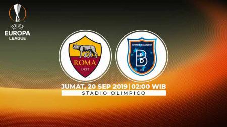 AS Roma akan mencoba melanjutkan tren positif mereka dalam ajang Liga Europa 2019/20 dengan menjamu Istanbul Basaksehir di Stadio Olimpico pada Jumat (20/9/19). - INDOSPORT