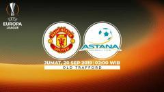 Indosport - Berikut link live streaming pertandingan Liga Europa 2019/20 antara Manchester United vs Astana yang berlangsung pada Jumat (20/9/19) pukul 02.00 WIB.