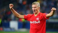 Indosport - Erling Haaland pemain muda yang mencetak hattrick di Liga Champions.