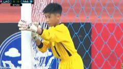 Indosport - Floyd Canilao Muna kiper Mariana Utara yang kebobolan 10 gol.