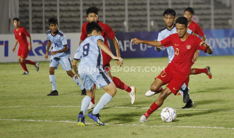 Timnas Indonesia U-16 vs Kep. Mariana Utara U-16 Copyright: Herry Ibrahim/INDOSPORT