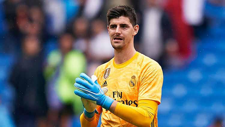 Kiper Real Madrid, Thibaut Courtois. Copyright: Quality Sport Images/Getty Images