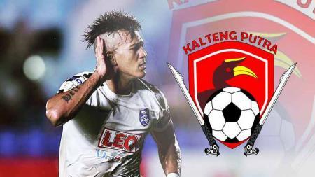 David Bala jadi pemain baru tim Kalteng Putra. - INDOSPORT