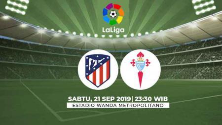 Pertandingan Atletico Madrid vs Celta Vigo bakal hiasi pekan kelima Liga Spanyol 2019-2020. - INDOSPORT