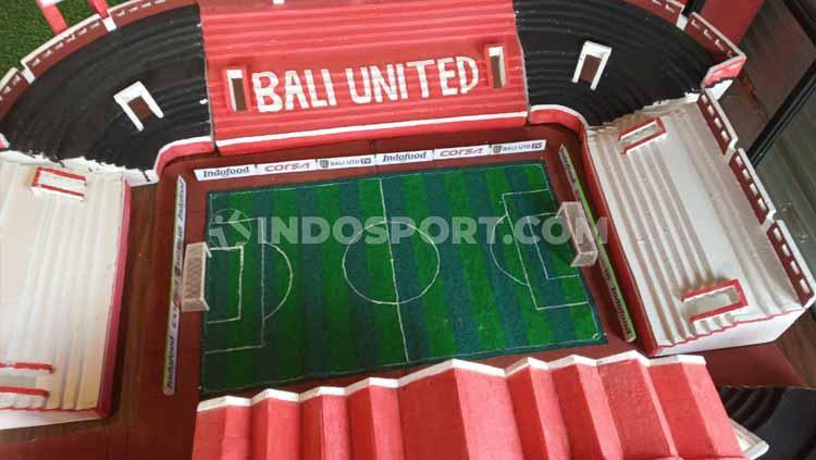 Stadion Kapten I Wayan Dipta Gianyar. Copyright: Nofik Lukman Hakim/INDOSPORT
