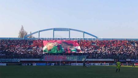 PSS Sleman akan menjalani laga kandang perdana di Liga 1 2020 saat menjamu Tira Persikabo di Stadion Maguwoharjo, Minggu (08/03/20). - INDOSPORT