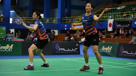 Ganda putri asal Korea Selatan sekaligus sahabat Greysia Polii, Chang Ye Na/Kim Hye Rin berhasil melenggang ke babak kedua dengan mudah. - INDOSPORT