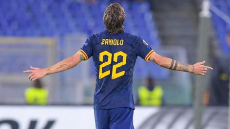 Nicolo Zaniolo, pemain yang dibuang Inter Milan kini terus berkembang bersama AS Roma - INDOSPORT