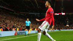 Indosport - Mason Greenwood mencetak rekor fantastis atas namanya sendiri ketika membela Manchester United di ajang Liga Europa, Jumat (20/09/19) dini hari WIB. Robbie Jay Barratt/Getty Images.