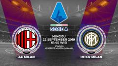 Indosport - Pertandingan AC Milan vs Inter Milan.