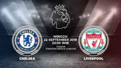 Indosport - Pertandingan Chelsea vs Liverpool.