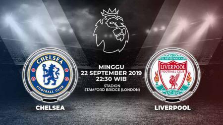Pertandingan Chelsea vs Liverpool. - INDOSPORT