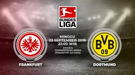 Pertandingan Eintracht Frankfurt vs Borussia Dortmund. - INDOSPORT