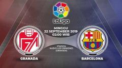 Indosport - Laga pekan kelima LaLiga Spanyol pada Minggu (22/9/19) antara Granada melawan Barcelona pada 02.00 WIB bisa disaksikan secara langsung lewat live streaming.