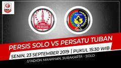 Indosport - Prediksi pertandingan Persis Solo vs Persatu Tuban.