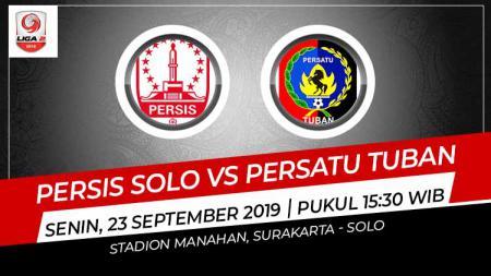 Pertandingan Persis Solo vs Persatu Tuban. - INDOSPORT