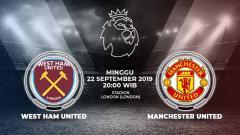 Indosport - Laga West Ham United melawan Manchester United, Minggu (22/9/19), pukul 20.00 WIB bisa disaksikan langsung lewat live streaming di TVRI dan Mola TV.