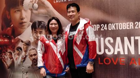 Susy Susanti dan Alan Budikusuma, pasangan legendaris bulutangkis Indonesia. - INDOSPORT