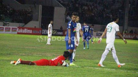 Laga pertandingan antara PSIS Semarang vs Persebaya, Jumat (20/09/19). - INDOSPORT
