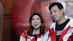 Indosport - Susy Susanti dan Alan Budikusuma, tokoh legendaris bulutangkis Indonesia yang menangkan emas Olimpiade Barcelona 1992.