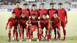 Ruy Arianto (kanan bawah) bersama Skuat Timnas Indonesia U-16.