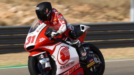 Gerry Salim tampil di Moto2 Aragon 2019 - INDOSPORT