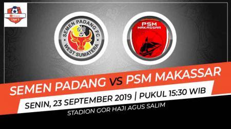 Semen Padang vs PSM Makassar di Liga 1 2019. - INDOSPORT