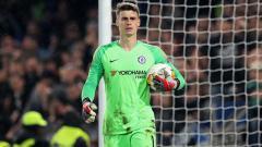 Indosport - Kiper klub Liga Inggris, Chelsea, Kepa Arrizabalaga.
