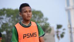 Indosport - Striker PSMS Medan, Tri Handoko, menyoroti wasit di Liga 2 jelang melawan Persita Tangerang.