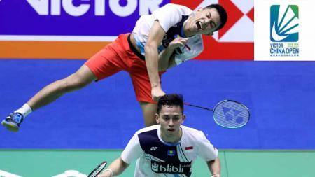 Fajar Alfian/Muhammad Rian Ardianto jelang semifinal China Open 2019 BWF World Tour Super 1000. - INDOSPORT