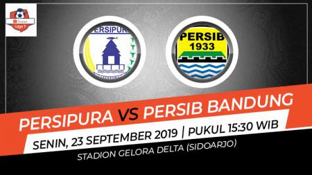 Pertandingan Persipura Jayapura vs Persib Bandung. - INDOSPORT