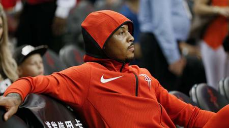 Carmelo Anthony, saat masih memperkuat Houston Rockets - INDOSPORT