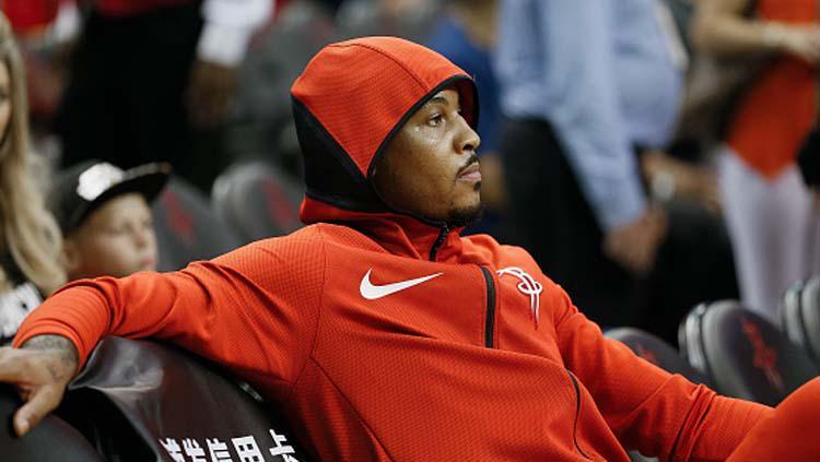 Carmelo Anthony, saat masih memperkuat Houston Rockets Copyright: Bob Levey/GettyImages