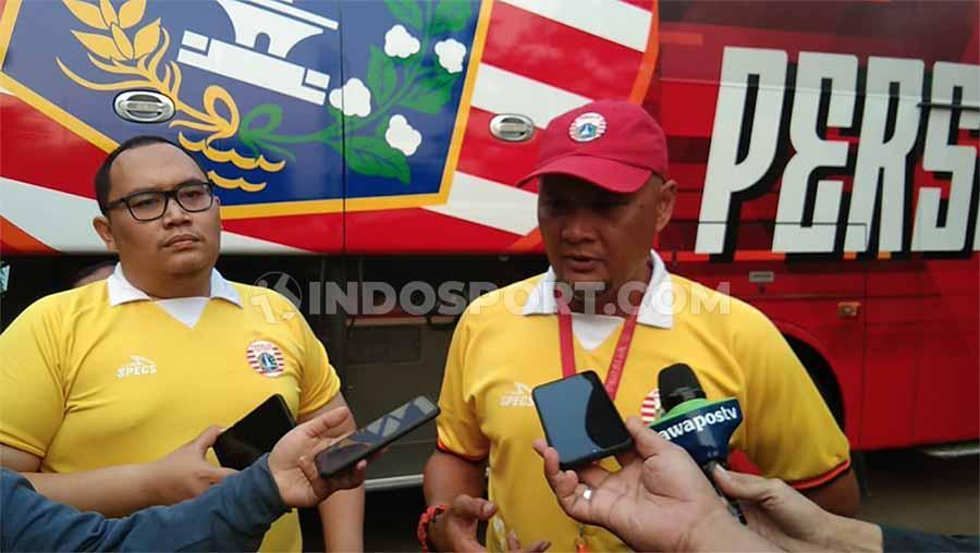 Pernyataan caretaker persija, Sudirman selepas melatih perdana Persija Jakarta. Copyright: Zainal Hasan/INDOSPORT
