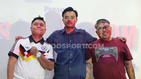 (Dari kiri ke kanan) Angga, Radit, dan Fadhila - INDOSPORT