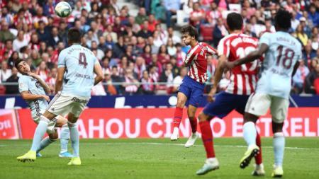 Percobaan Joao Felix di pekan ke-5 LaLiga Spnayol antara Atletico Madrid vs Celta Vigo, Sabtu (21/09/19). - INDOSPORT