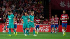Indosport - Barcelona mengalami kekalahan dari tuan rumah Granada dalam lanjutan pekan kelima LaLiga Spanyol 2019-2020, Minggu (22/09/19) dini hari WIB.