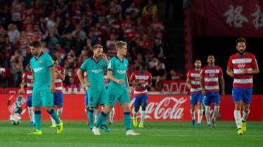 Barcelona mengalami kekalahan dari tuan rumah Granada dalam lanjutan pekan kelima LaLiga Spanyol 2019-2020, Minggu (22/09/19) dini hari WIB.