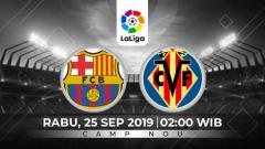 Indosport - Prediksi Barcelona vs Villarreal.