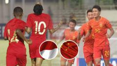 Indosport - Menakar kekuatan China, lawan Timnas Indonesia U-16 di laga penentuan.