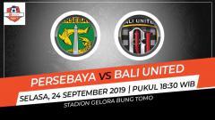 Indosport - Prediksi Persebaya Surabaya vs Bali United di Liga 1 pekan ke-19.