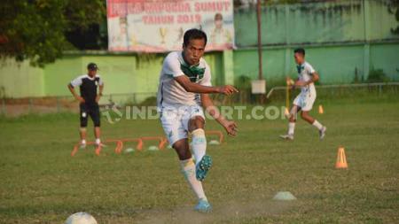 Bek senior klub Liga 2 PSMS Medan, Syaiful Ramadhan, mengaku memiliki sajian favorit atau yang digemari oleh dirinya pada setiap memasuki Hari Raya Idulfitri. - INDOSPORT