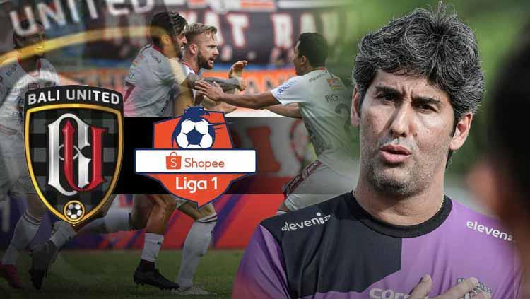 Bali United terdepan, Teco di ambang pemecahan rekor Liga Indonesia paling langka. Copyright: bali united/INDOSPORT