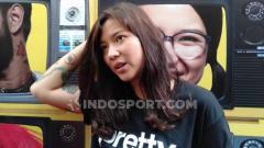 Indosport - Danilla Riyadi, penyanyi dan aktris film Indonesia.
