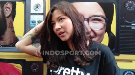 Danilla Riyadi, penyanyi dan aktris film Indonesia. - INDOSPORT