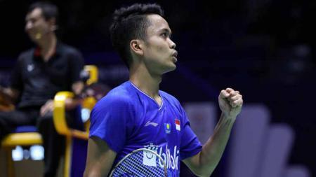 Badminton World Federation (BWF) melalui situs resminya menyoroti empat hal ini di Olimpiade Tokyo, 2020, termasuk menyeret nama Anthony Sinisuka Ginting. - INDOSPORT