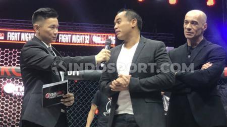 Ardi Bakrie, Ketua Komite Olahraga Beladiri Indonesia. - INDOSPORT